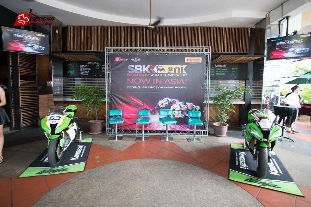 eni FIM Superbike World Championship 2014 Official Launch