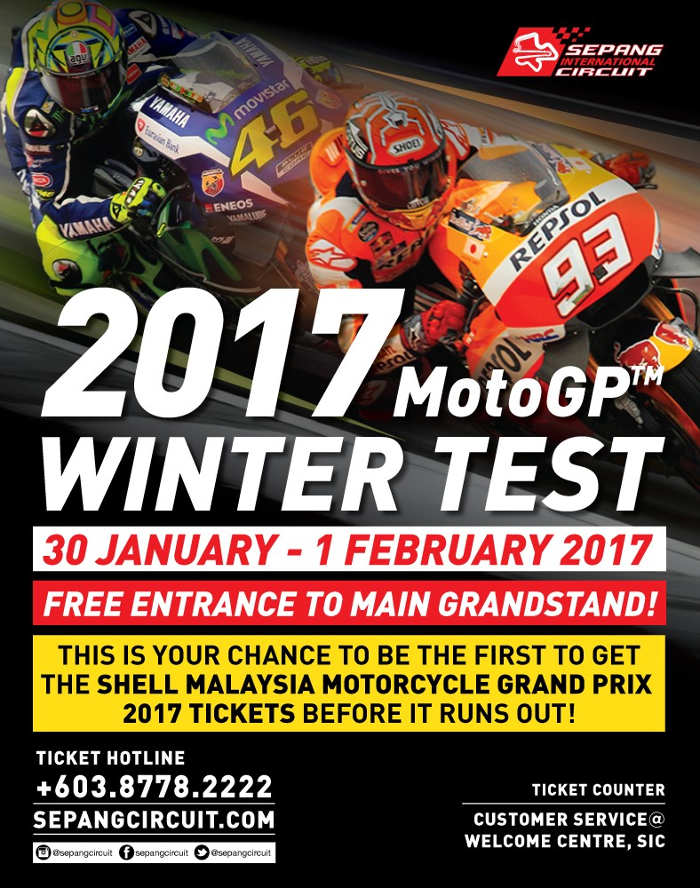 Sepang International Circuit - THE WAIT IS OVER, MOTOGP IS COMING TO SEPANG